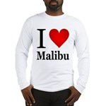 I Love Malibu Long Sleeve T-Shirt
