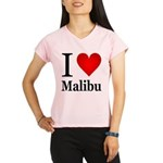 I Love Malibu Performance Dry T-Shirt