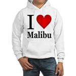 I Love Malibu Hooded Sweatshirt