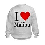 I Love Malibu Kids Sweatshirt