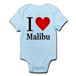 I Love Malibu Infant Bodysuit