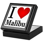 I Love Malibu Keepsake Box