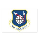 30th Space Wing Postcards (Package of 8)