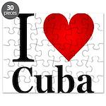 I Love Cuba Puzzle