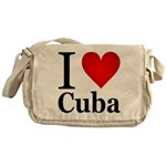 I Love Cuba Messenger Bag