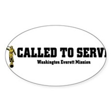 Washington Everett LDS Missio Decal