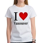 I Love Vancouver Women's T-Shirt