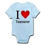 I Love Vancouver Infant Bodysuit