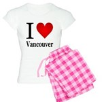 I Love Vancouver Women's Light Pajamas