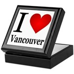I Love Vancouver Keepsake Box