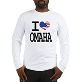 I LOVE OMAHA Long Sleeve T-Shirt