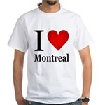 I Love Montreal White T-Shirt