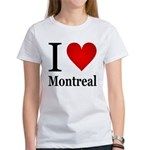 I Love Montreal Women's T-Shirt