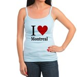 I Love Montreal Jr. Spaghetti Tank