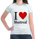 I Love Montreal Jr. Ringer T-Shirt