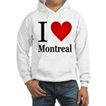 I Love Montreal Hooded Sweatshirt