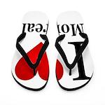 I Love Montreal Flip Flops
