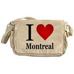 I Love Montreal Messenger Bag