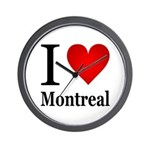 I Love Montreal Wall Clock