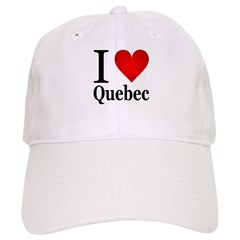 I Love Quebec Cap