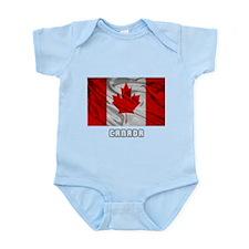 Flag of Canada Infant Bodysuit