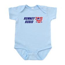 MITT ROMNEY MARK RUBIO 2012 P Infant Bodysuit
