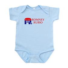 ROMNEY RUBIO 2012 VP RUBIO RO Infant Bodysuit