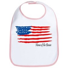 Home of the Brave Bib