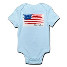 Home of the Brave Infant Creeper
