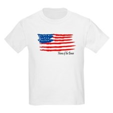 Home of the Brave Kids T-Shirt