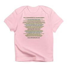 10 Commandments-Baseball Infant T-Shirt