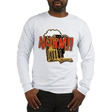 NORM! with Beer Mug Long Sleeve T-Shirt
