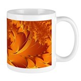 """Autumn Glory"" Fractal Art Small Mug"