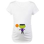 Halloween Cute Monster Maternity T-Shirt