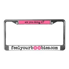 Health License Plate Frame