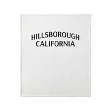 Hillsborough California Throw Blanket