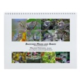 Backyard Mama and Babies Wall Calendar