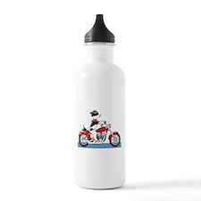 Dog Motorcycle Water Bottle