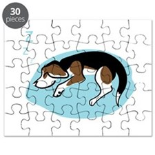Sleeping Beagle Puzzle