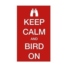 Keep Calm and Bird On Decal