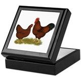 New Hampshire Chickens Keepsake Box