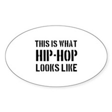 Cool HipHop designs Decal