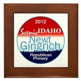 Gingrich IDAHO Framed Tile