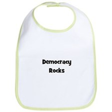Democracy Rocks Bib