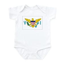 USVI Flag Infant Bodysuit