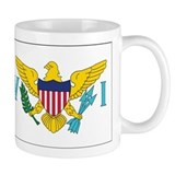 USVI Flag Coffee Mug