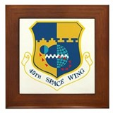45th Space Wing Framed Tile
