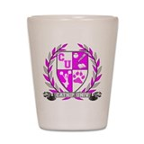 Catnip University Crest Shot Glass