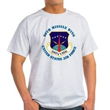 90th Missile Wing with Text T-Shirt
