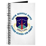 90th Missile Wing with Text Journal